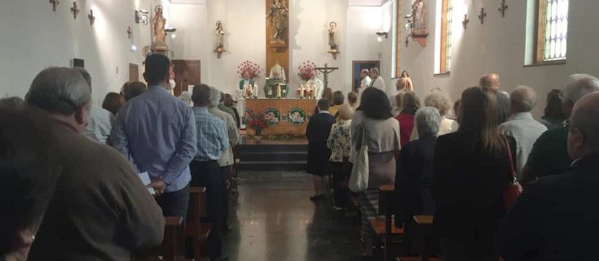 Mons. Jesús Sanz inaugura el Mes Misionero Extraordinario
