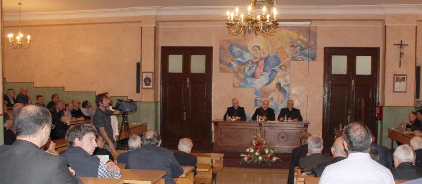 Inauguración del curso en el Seminario