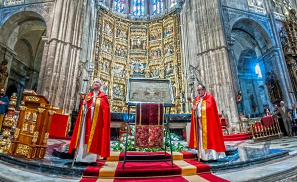 Jubileo de la Santa Cruz en la Catedral