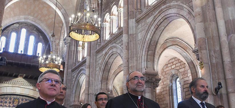 La Basílica de Covadonga estrena iluminación gracias a la Fundación Endesa