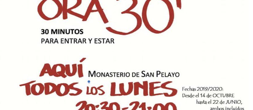 Se reanuda Ora 30′ en San Pelayo