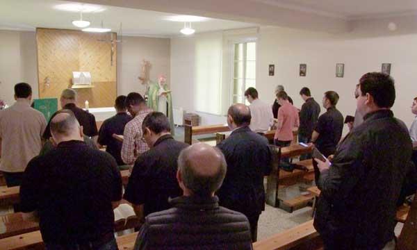Seminaristas en las parroquias