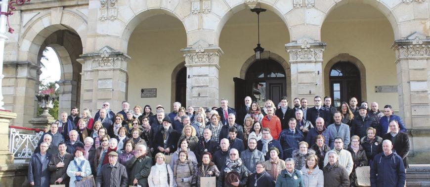 Encuentro de cofradías diocesanas en Villaviciosa
