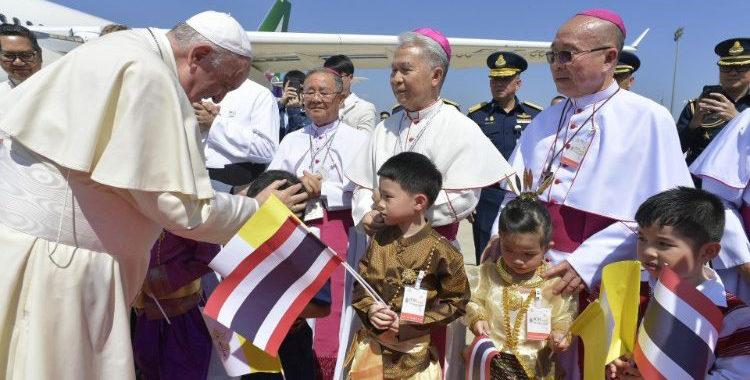 La «santa audacia» que pide el Papa en Tailandia