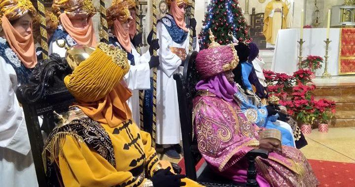 Representación de la Adoración de los Reyes Magos en Villaviciosa