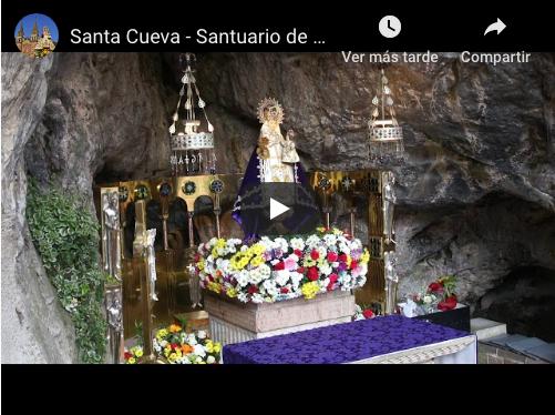 Eucaristía diaria desde el Santuario de Covadonga