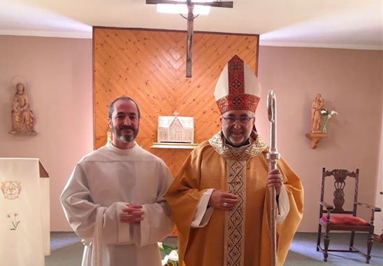 San José en el Seminario y el rito del acolitado