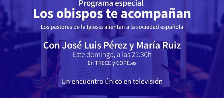 Intervención de Mons. Sanz en el programa «Los obispos te acompañan», de TreceTV