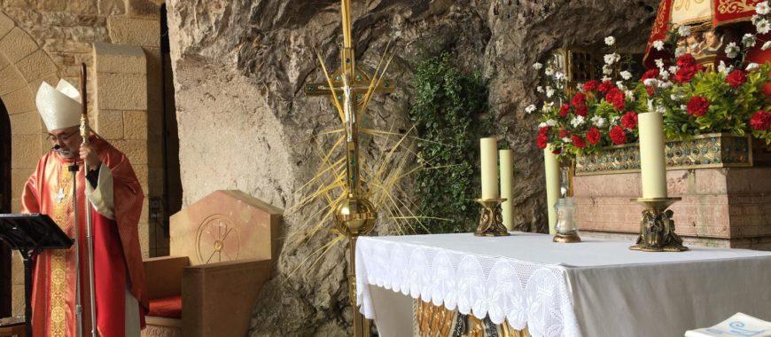 «Hoy estrenamos una Semana Santa inimaginable». Homilía de Mons. Sanz en el Domingo de Ramos