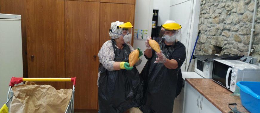 La Fraternidad de Francisco redobla su esfuerzo en la crisis sanitaria