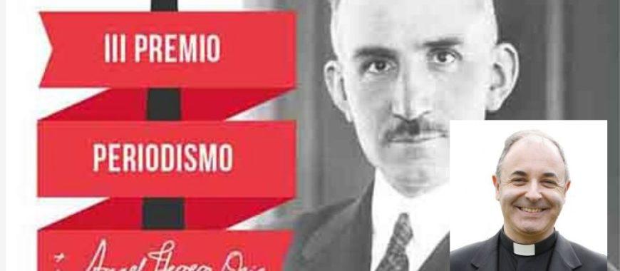 D. Jorge Juan Fernández Sangrador, Premio de Periodismo Ángel Herrera Oria