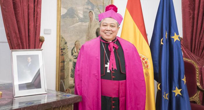 El Nuncio Apostólico inaugura este año la Novena a la Santina
