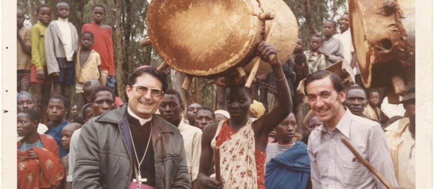 50.º aniversario de la primera misión diocesana: Burundi
