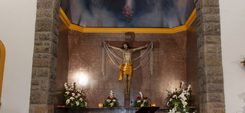 Suspensión de la novena y fiesta del Cristo de las Cadenas