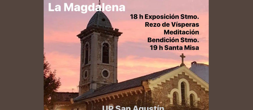 Jueves eucarísticos en la UP San Agustín