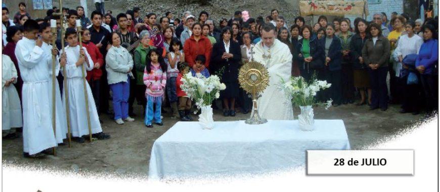 28 de julio, Día del Misionero Diocesano