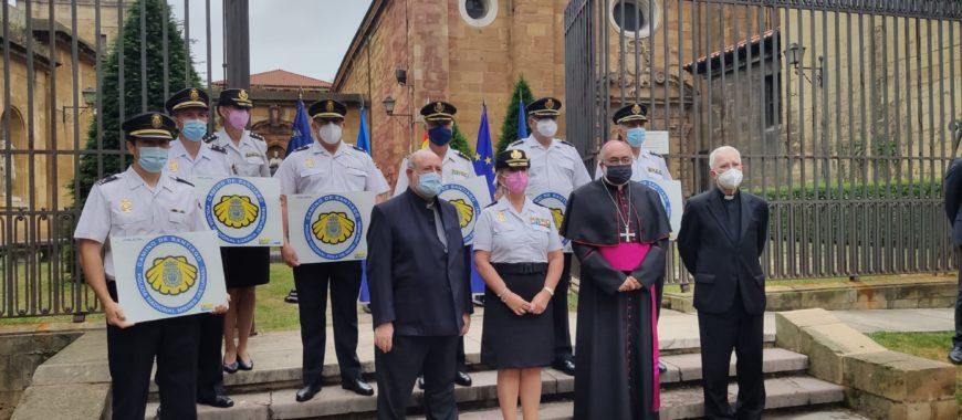 Los peregrinos del Camino de Santiago podrán sellar sus credenciales en dependencias de la Policía Nacional, en Asturias