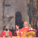 Mons. Manuel Sánchez Monge, Obispo de Santander, en el Jubileo de la Santa Cruz