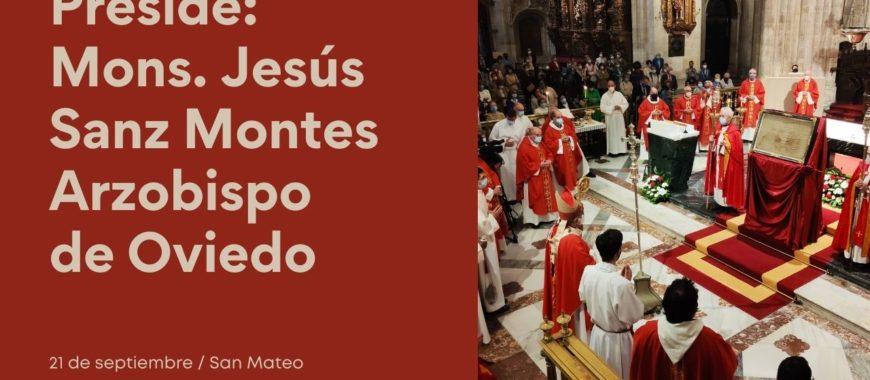 DIRECTO: Eucaristía de San Mateo en la Catedral