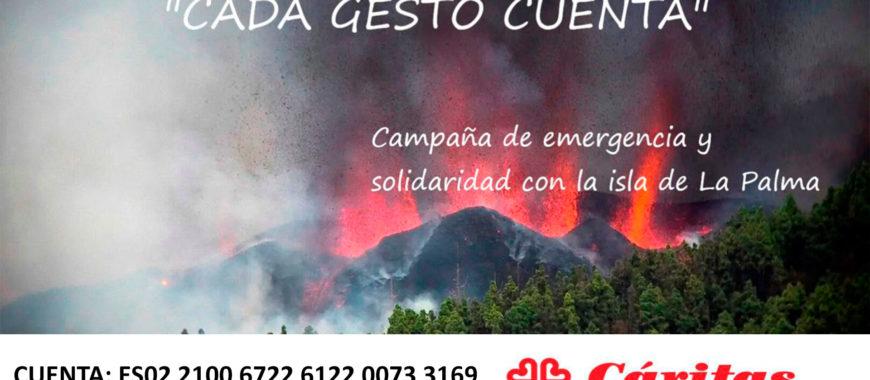 Campaña de emergencia y solidaridad con La Palma
